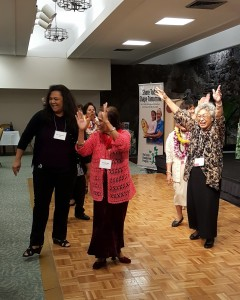 Volunteers did not just get honored, they also got to enjoy themselves at the annual luncheon.